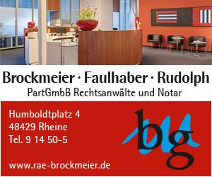 Brockmeier, Faulhaber, Rudolph, PartGmbB