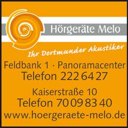 Hörgeräte Melo Dortmund