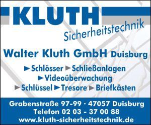 Walter Kluth GmbH Schlüsseldienst