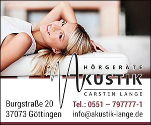Akustik Lange Hörgeräte