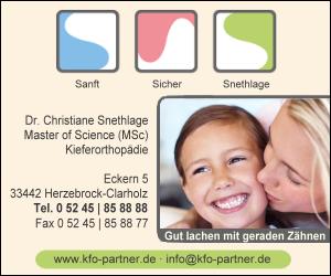 Dr. Christiane Snethlage MSc Master of Science Kieferorthopädie
