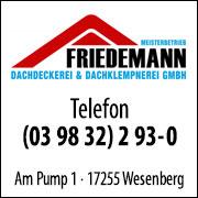 Dachdeckerei Friedemann