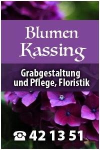 Blumen Kassing