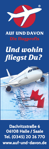 AUF UND DAVON die Flugprofis